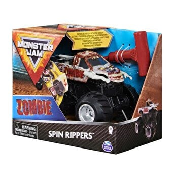 Figurina Monster Jam Seria Spin Rippers 1:43, Zombie