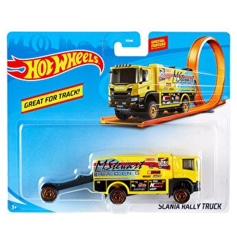 Camion Scania Rally Truck, Hot Wheels